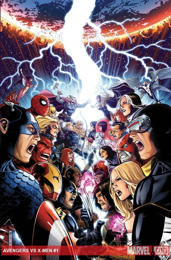 Review – Avengers vs X-Men #1