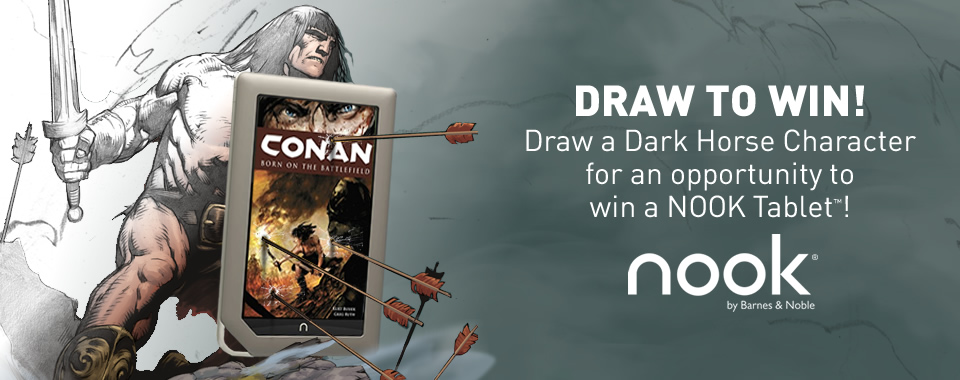 Dark Horse announces Nook art contest