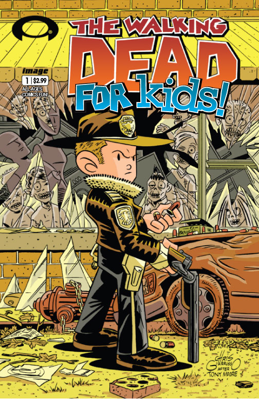 The Walking Dead For Kids #1 cover art appears… if only