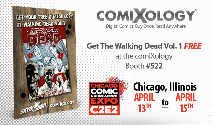 ComiXology brings The Walking Dead to C2E2