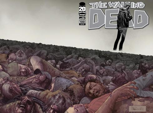 Skybound unveils The Walking Dead issue 100 cover