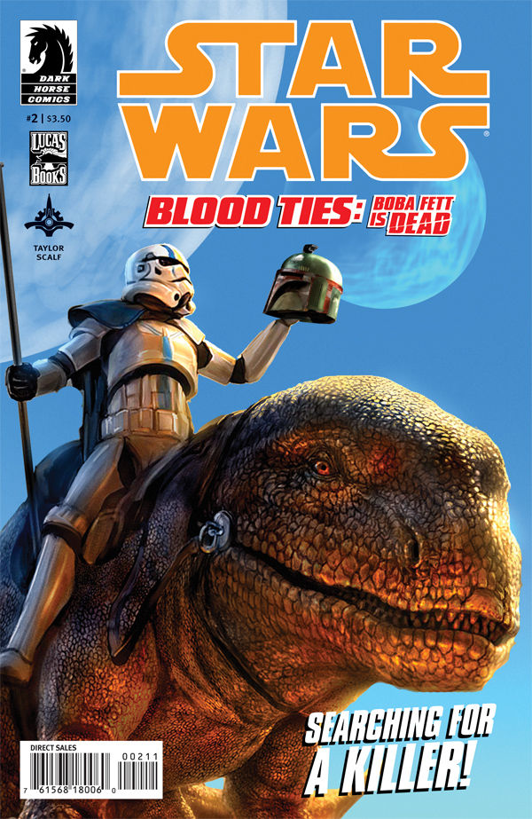 Review – Star Wars: Blood Ties #2 – Boba Fett is Dead