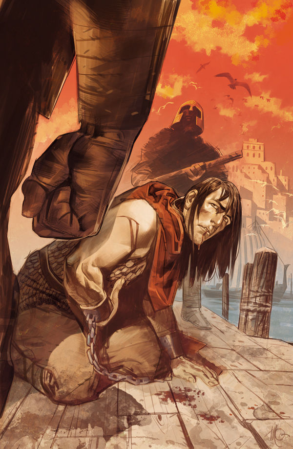 Review – Conan The Barbarian #4 – The Argos Deception Part 1