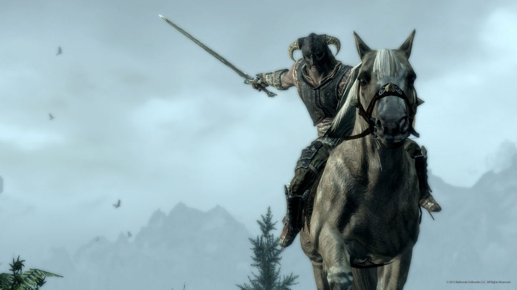 (PC) Skyrim Update 1.6 Includes Mounted Combat
