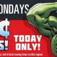 Marvel unleashes The Avengers in a new 99 cent sale this monday! Grab select issues from 4 different series.