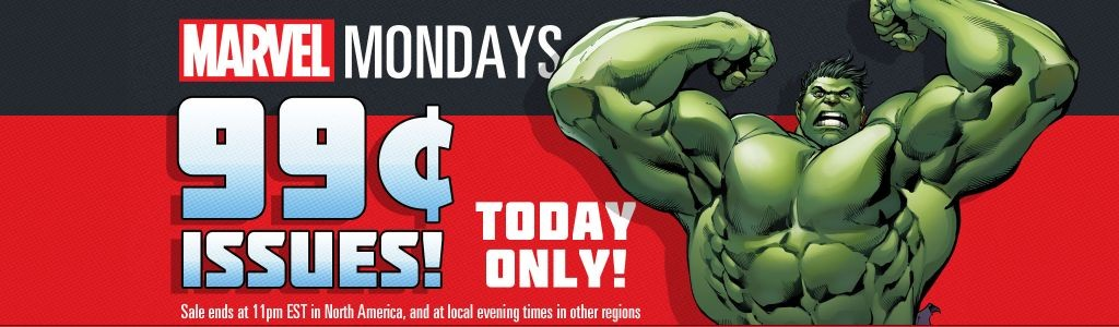 Marvel 99 cent Mondays brings The Avengers