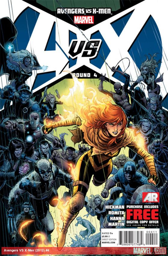 Review – Avengers vs X-Men #4 (AvX)