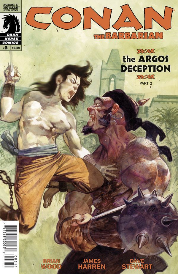 Review – Conan The Barbarian #5 – The Argos Deception Part 2