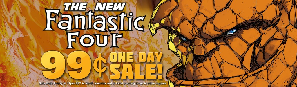 Marvel launches a Fantastic Four 99 cent sale