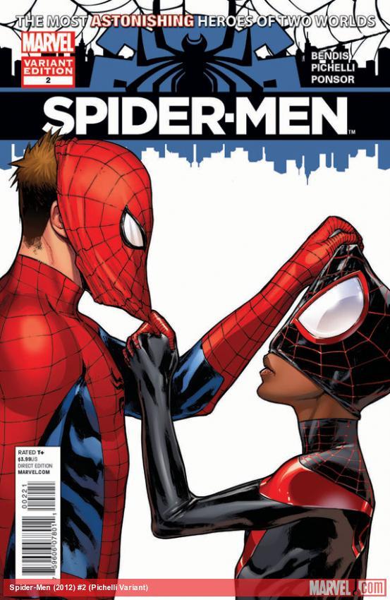 "Review – Spider-Men #2 – ""Peter Parker meet Miles Morales, Miles Morales meet Peter Parker"""