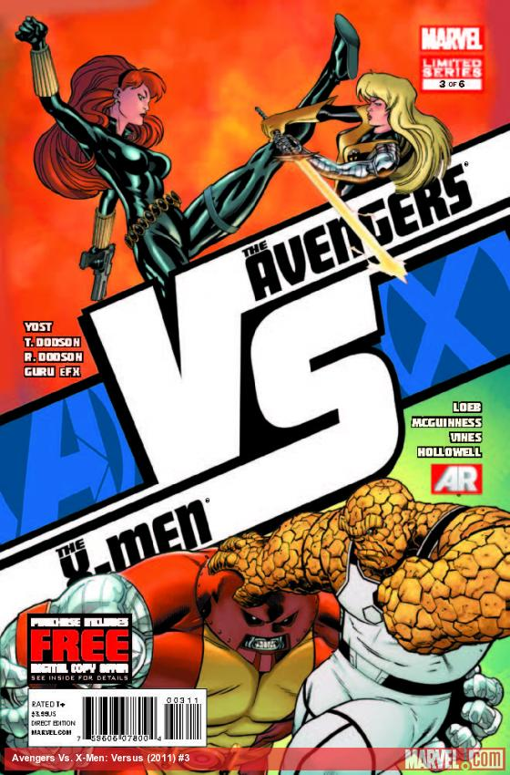 Review – Avengers Vs X-Men: Versus #3 (AVX)
