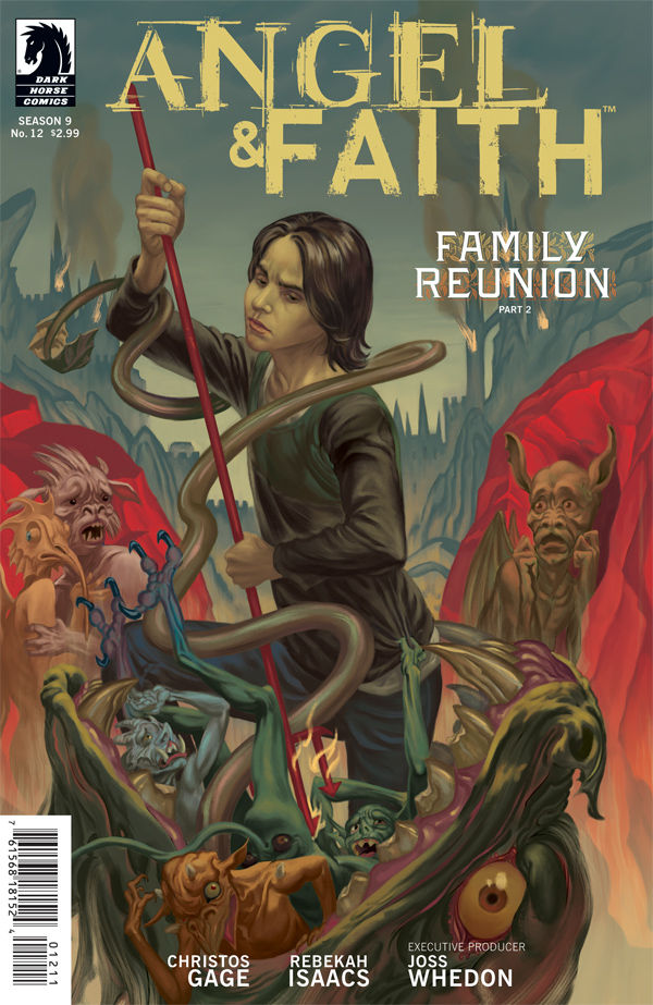Review – Angel & Faith #12 Family Reunion Part 2