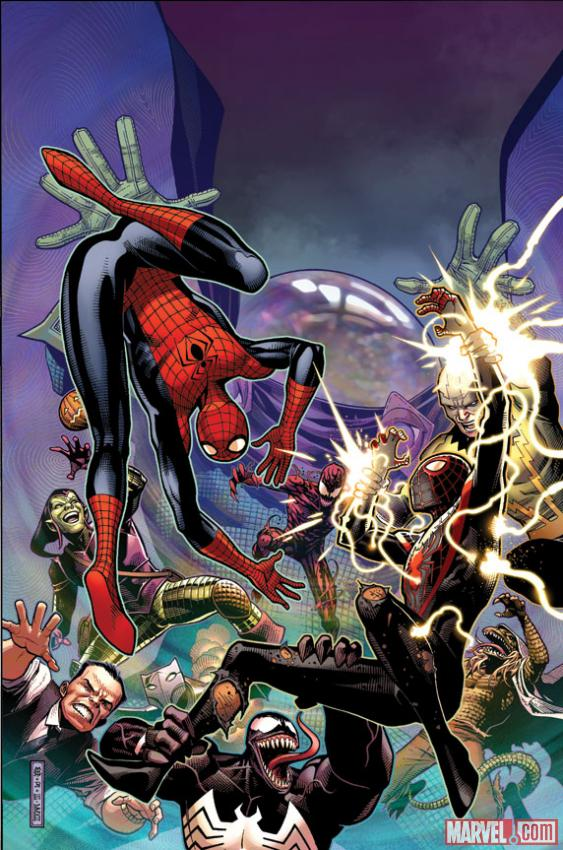 "Review – Spider-Men #3 – ""Spider-Men vs Mysterio"""
