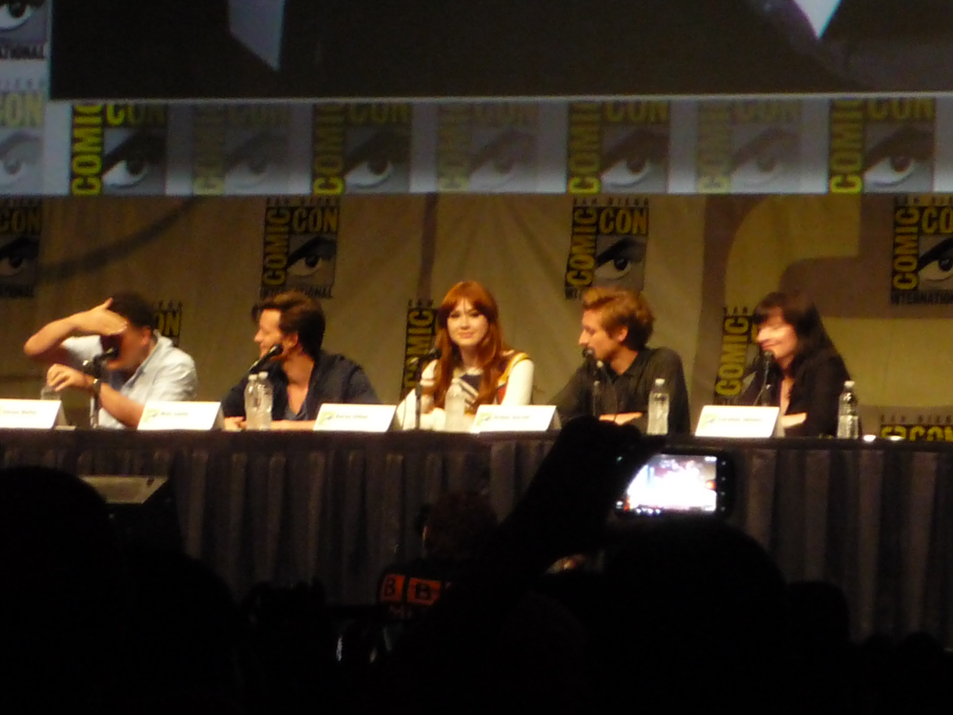 SDCC 2012 – Doctor Who Season 7 Panel with Video