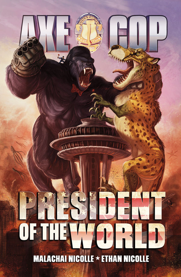 Review – Axe Cop #2 President Of The World