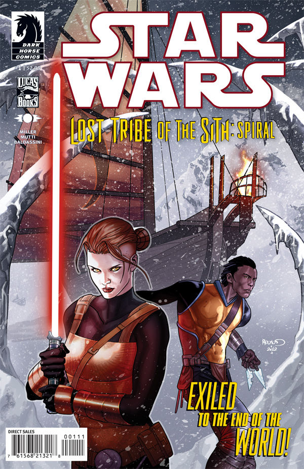 Review – Star Wars – Lost Tribe of the Sith: Spiral #1 of 5