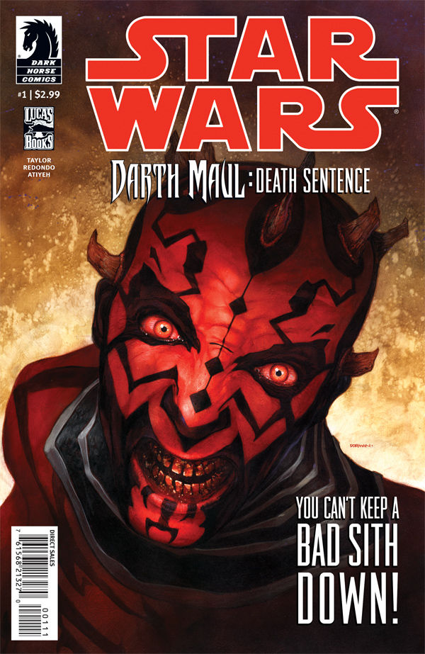 Review – Star Wars – Darth Maul: Death Sentence #1 of 4