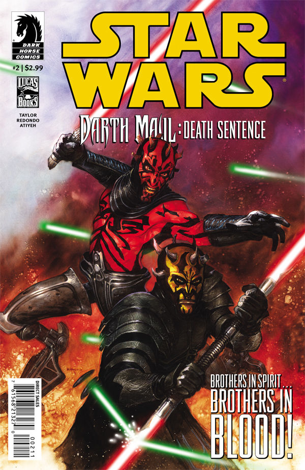 Review – Star Wars – Darth Maul: Death Sentence #2 of 4