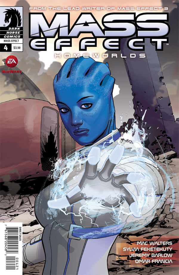 Review – Mass Effect: Homeworlds #4 – Part 4 of 4