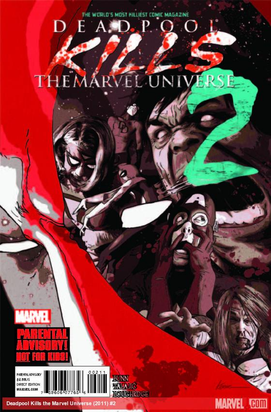 Review – Deadpool Kills The Marvel Universe #2 – Part 2 (2012)