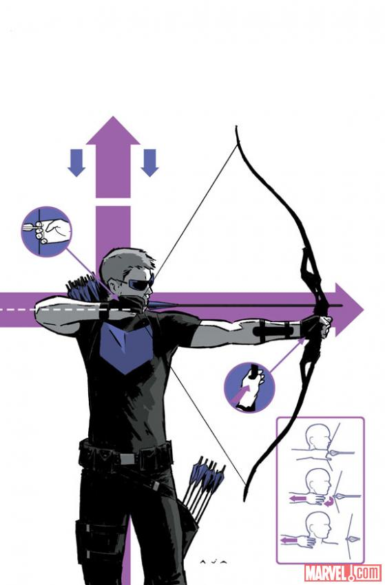 Marvel Sneak Peek: Hawkeye #2 sneak peek pages arrive