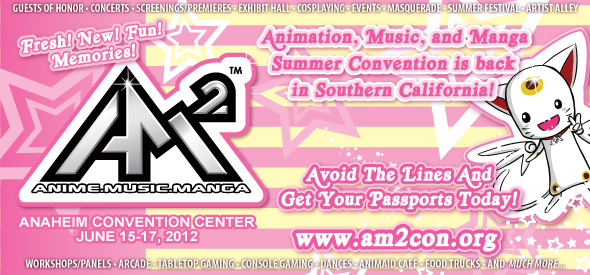 AM2 Con announces 2013 dates and new pricing