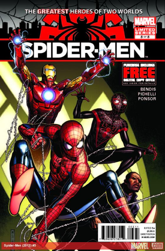 "Review – Spider-Men #5 –  "" Guess This Is Goodbye Huh!"""