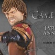 DARK HORSE UNVEILS TYRION STATUE THE LATEST ADDITION TO THE GAME OF THRONES® COLLECTIBLES LINE! When looking for a key moment to immortalize as the second sculptural piece in Dark Horse's...