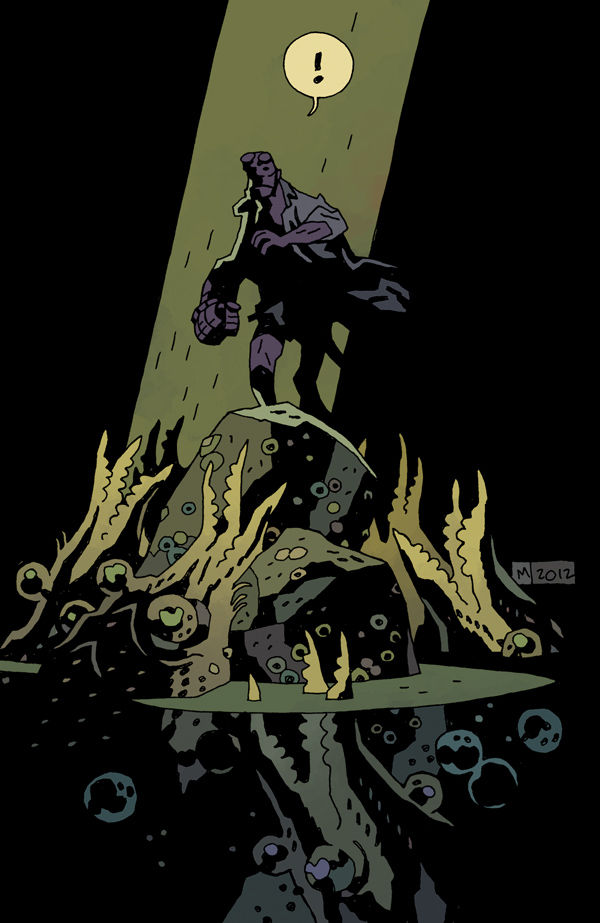 "Review – Hellboy – In Hell #1 – ""Death was only the beginning"""