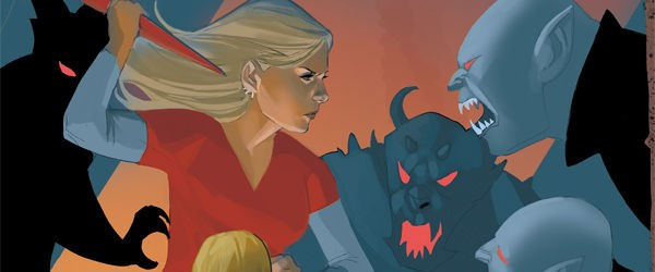 What's this? Zompires and a male slayer? The Buffy worlds get a shake up in issue 14