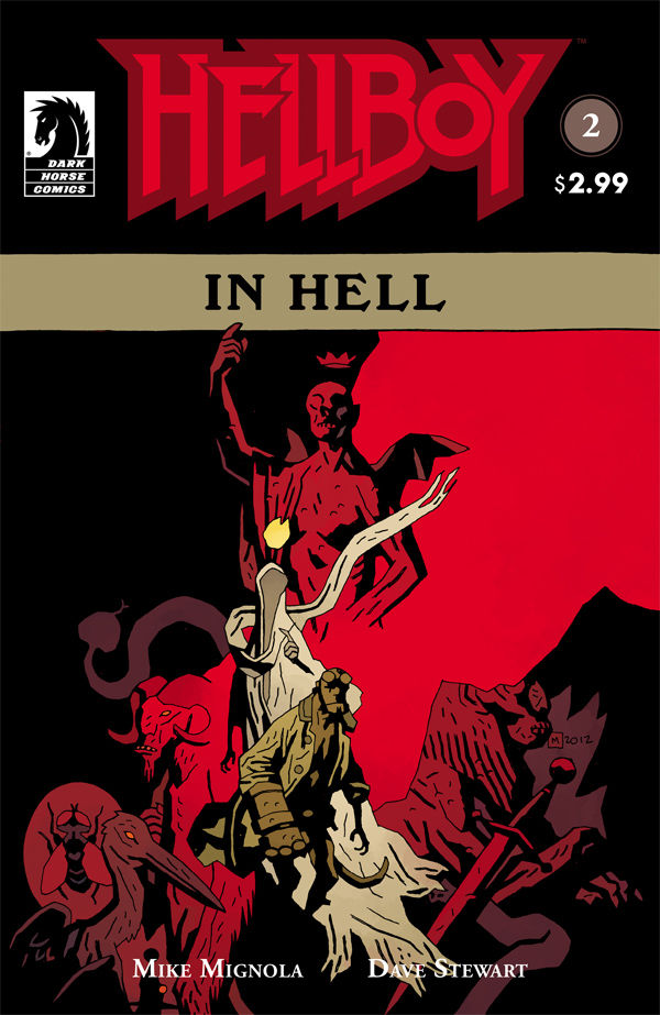 "Review – Hellboy – Hellboy in Hell #2 "" In Pandemonium A Throne Awaits For Its King"""