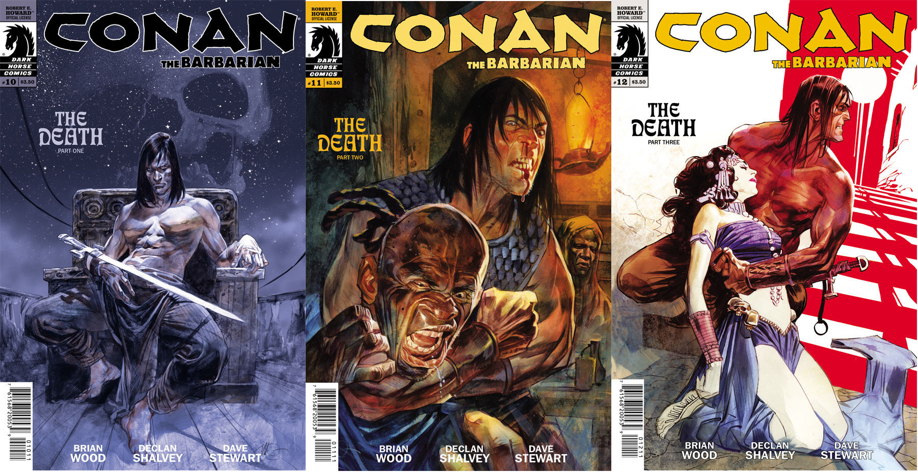 Review – Conan The Barbarian – The Death #1-3