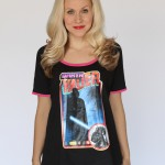 Revisit the dark side in this retro tee featuring the Dark Lord of the Sith himself, Darth Vader! This is a recreation of a popular shirt back from the 80's.