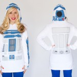 Everyone's favorite little droid comes to life in this ultra comfortable R2-D2 hooded tunic -available in both adult and youth sizes!