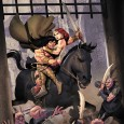 DARK HORSE SUMMONS  CONAN AND THE PEOPLE OF THE BLACK CIRCLE! Beloved Hercules and Hulk team, Van Lente and Olivetti, reunite! Dark Horse announced today that two of the hottest names in comics, writer Fred Van Lente...