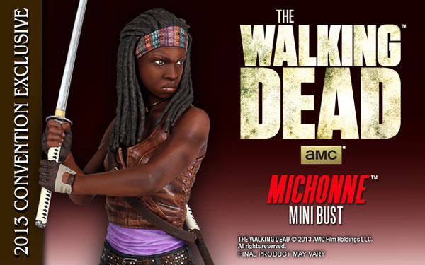 "Gentle Giant ""The Walking Dead"" Bundle Special Exclusive's for Comic Con 2013!"