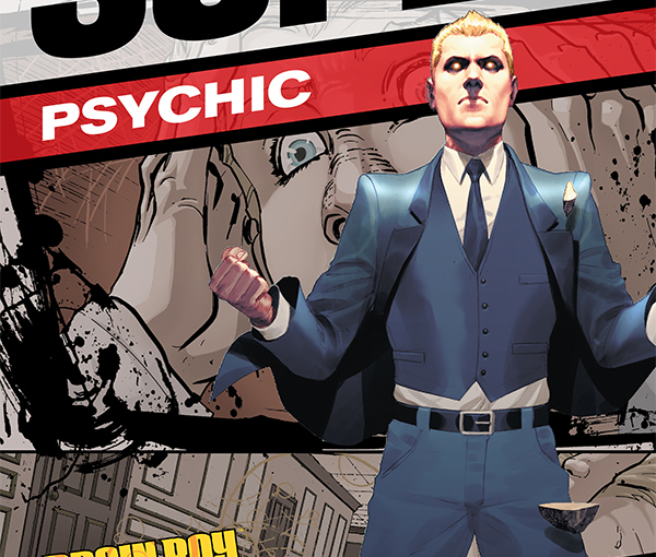 Dark Horse Preview – Super Psychic : Brain Boy