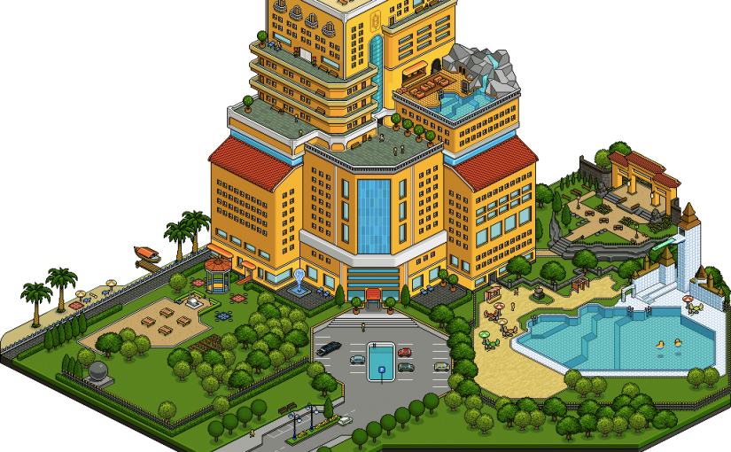 Virtual Piggy Teams up with Habbo Hotel