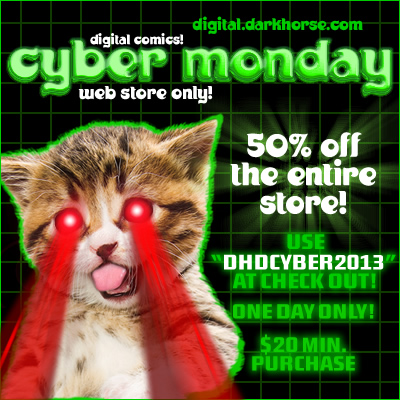 Dark Horse Cyber Monday Deal!