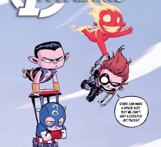 Marvel First Look: Exclusive First Look Skottie Young All-New Ivaders #1 & She Hulk #1 Covers