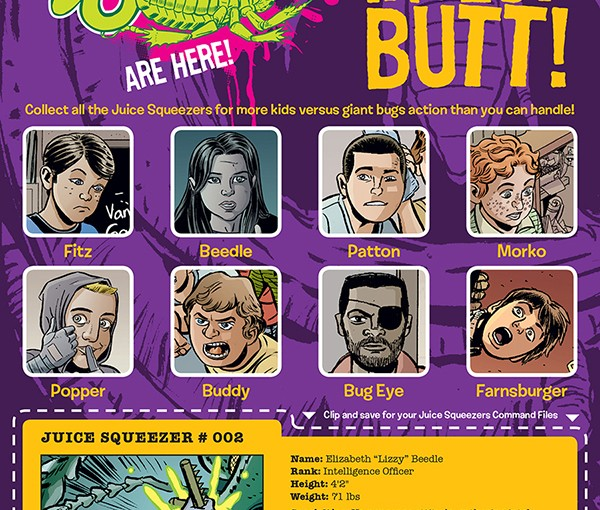 Dark Horse: David Lapham's Juice Squeezers Feature In Free Comic Book Day 2014!