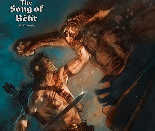 Review – Conan The Barbarian:The Song Of Belit – Part Three & Four