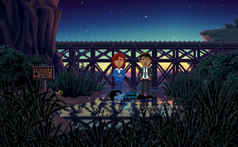 Ransome talks Thimbleweed Park in latest trailer