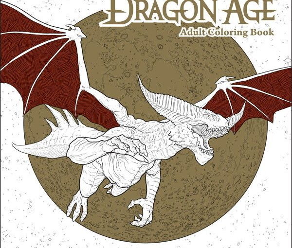 Review – Dragon Age Adult Coloring Book