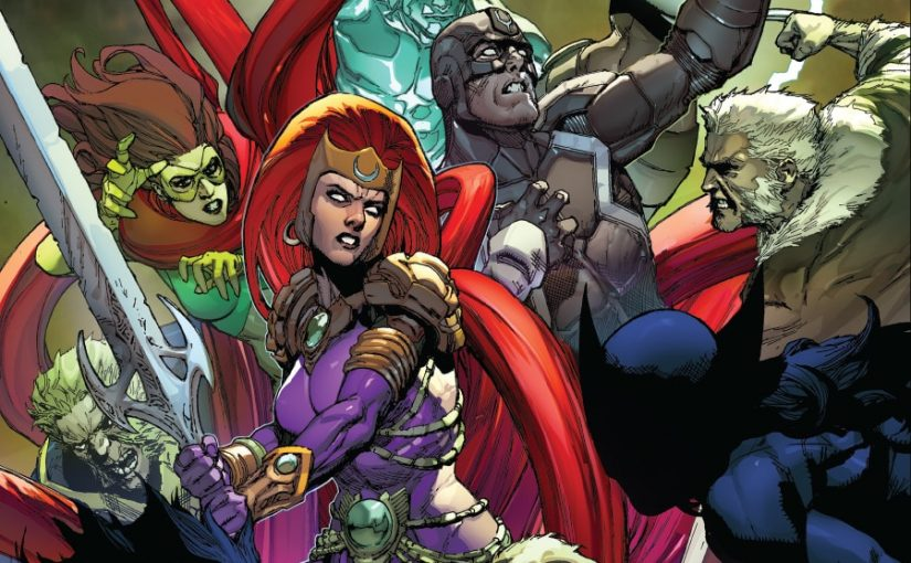 Review – Inhumans vs X-Men #2 : Fate in the hands of two inhumans