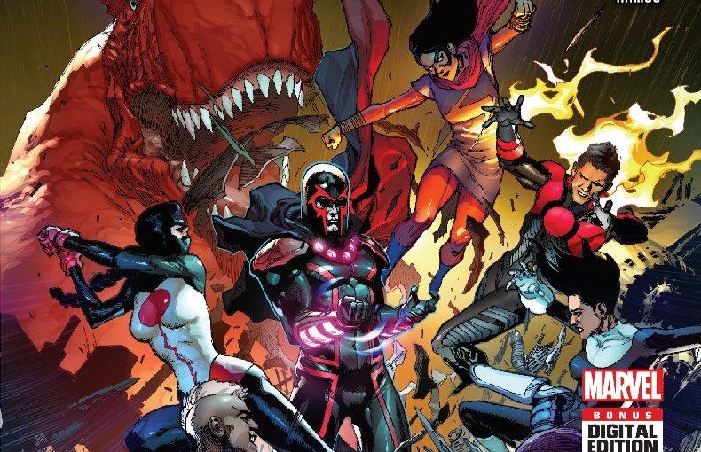 Review – Inhumans vs X-Men #3 :Where's Black Bolt!