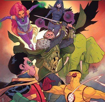 Review – Teen Titans #5: Damian vs Ra's Al Ghul