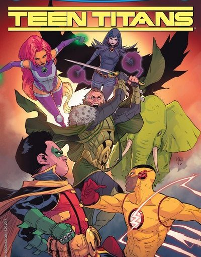 Review – Teen Titans #5: Damian vs Ra's Al Ghul