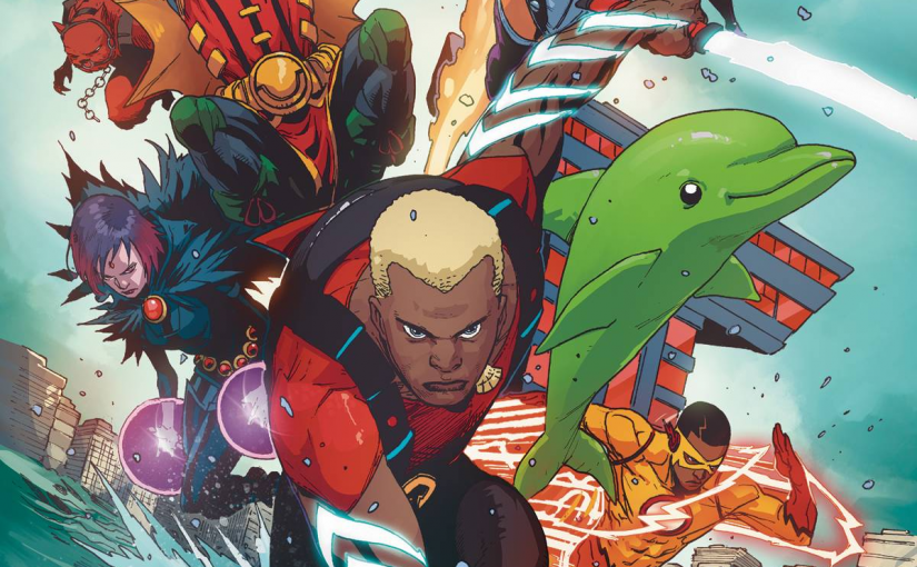 "Review – Teen Titans Rebirth #6: ""The Rise of Aqualad"""