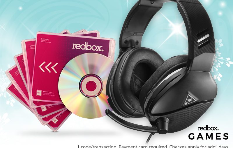 Turtle Beach giving away five nights with Redbox